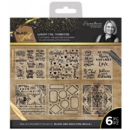 Sara Signature : Black & Gold - Foil Transfers (6pk)